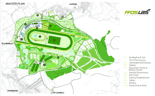 Ffoslas Racecourse Plans